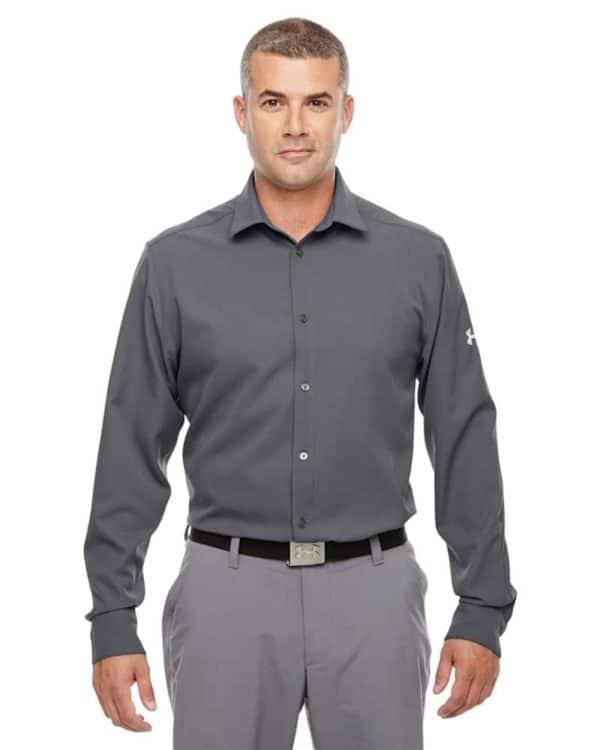 P - Under Armour Men's Ultimate Long Sleeve Buttondown