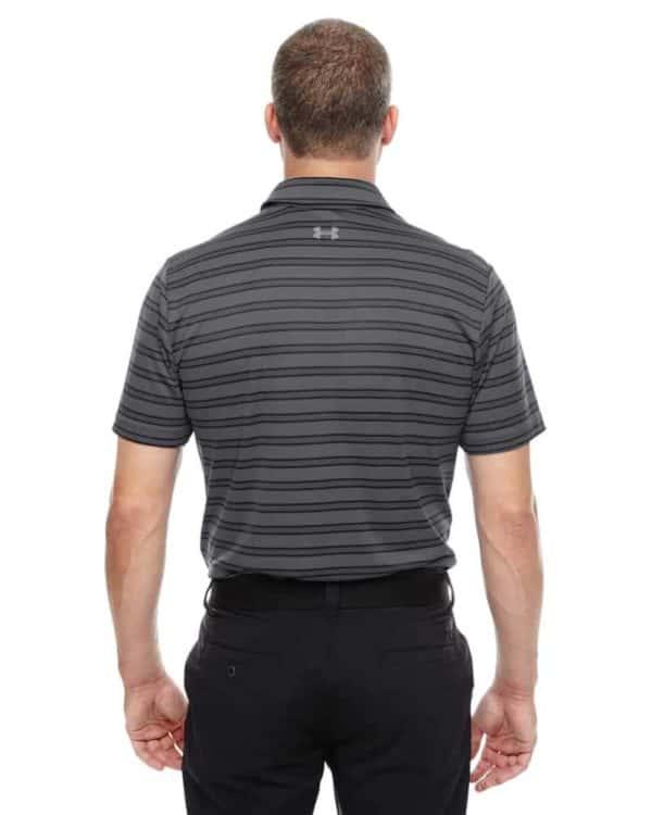 P - Under Armour Tech Stripe Polo