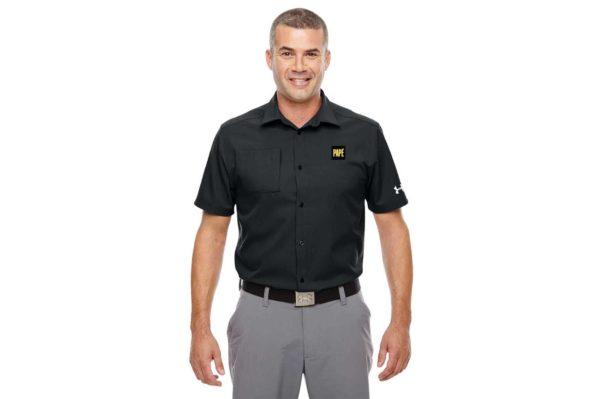 P - Under Armour Men's Ultimate Short Sleeve Buttondown