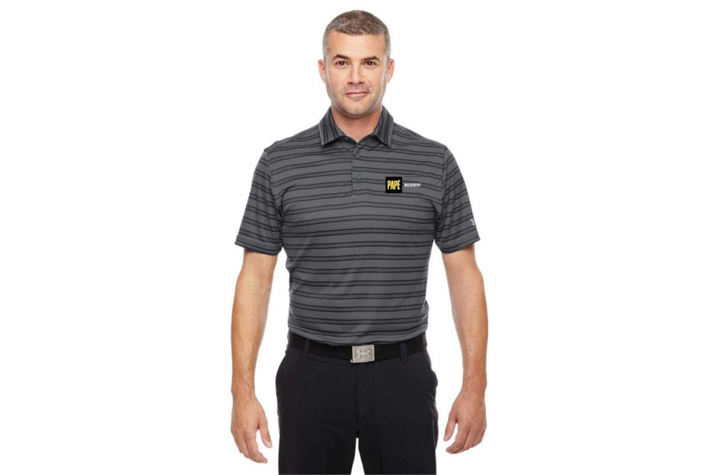PMAT - Under Armour Tech Stripe Polo